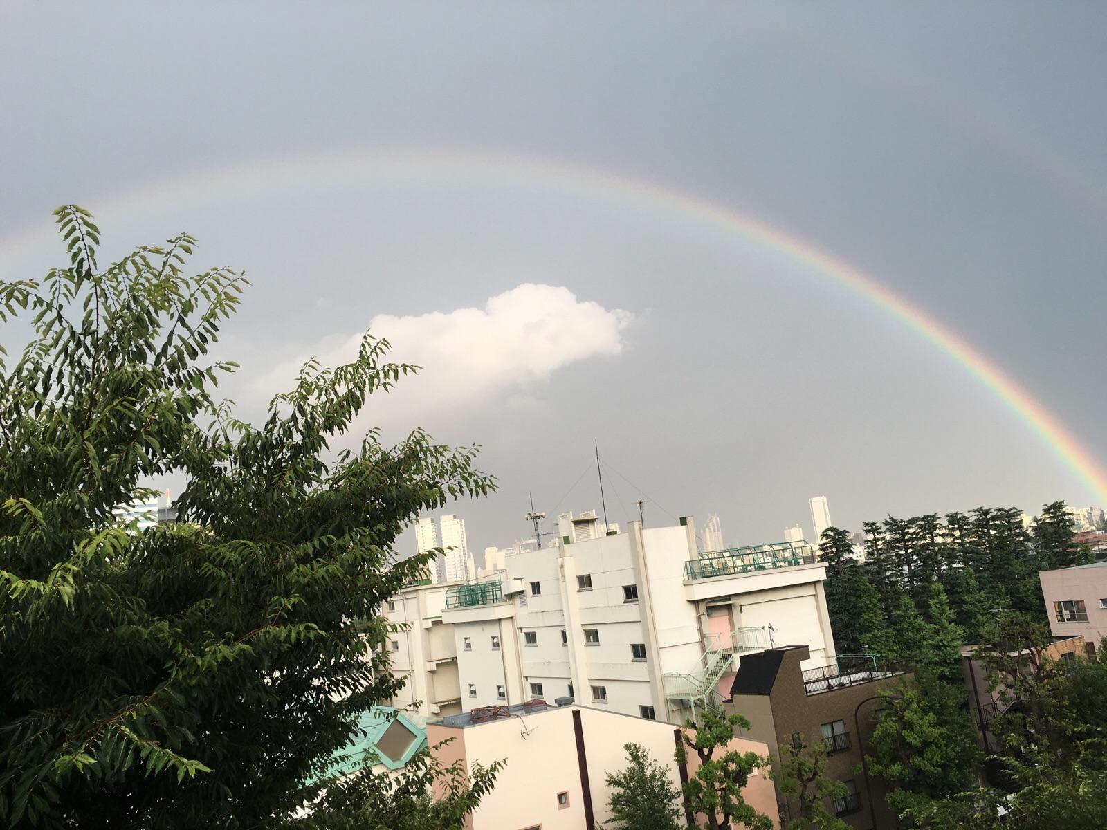 Rainbow in Brazil